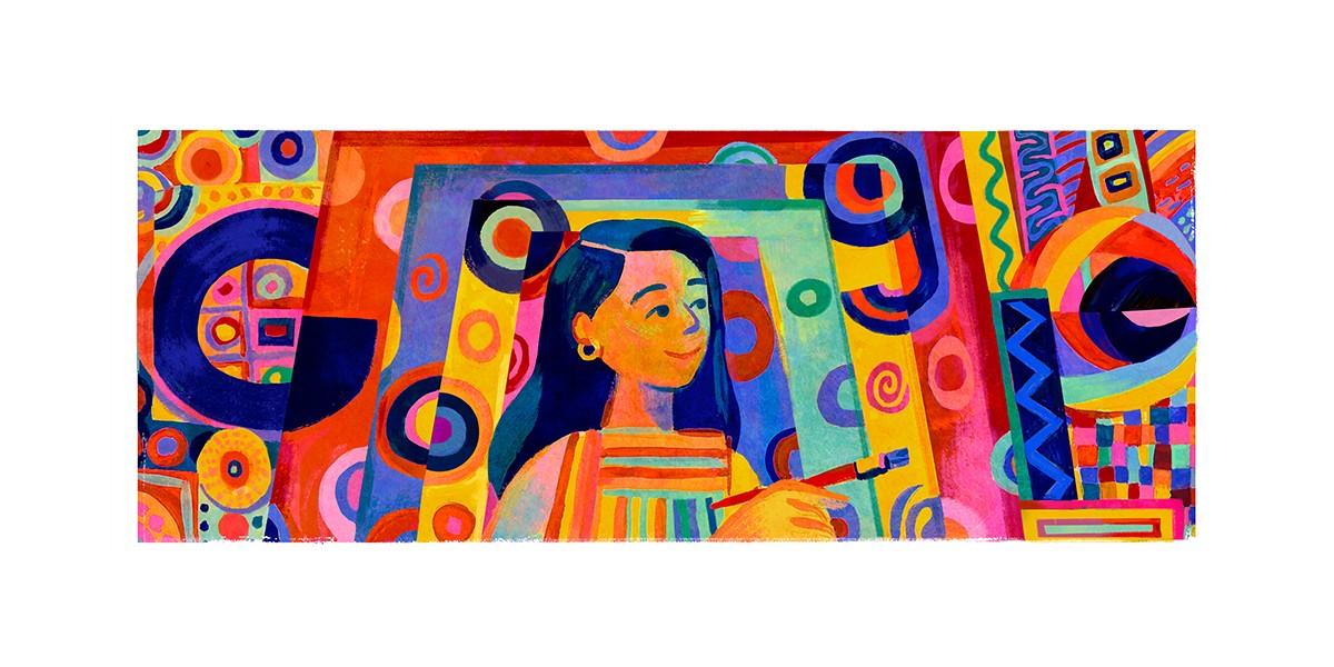 Google Doodle Honors Philippine Artist Pacita Abad