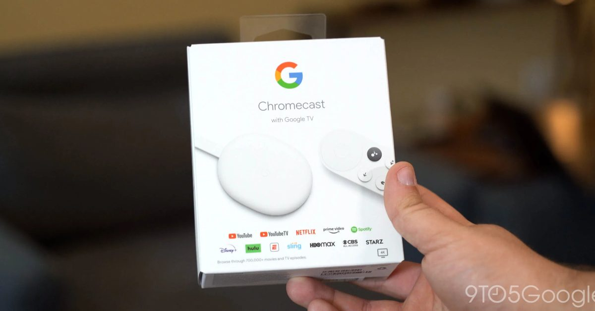 Google Store begins shipping Chromecast with Google TV - 9to5Google