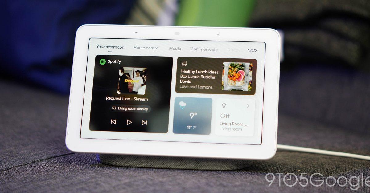New Nest Hub looks like original w/ Google Fit sleep tracking - 9to5Google