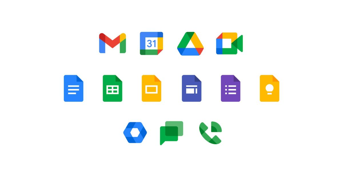New Google Workspace icons rolling out on Android, web - 9to5Google