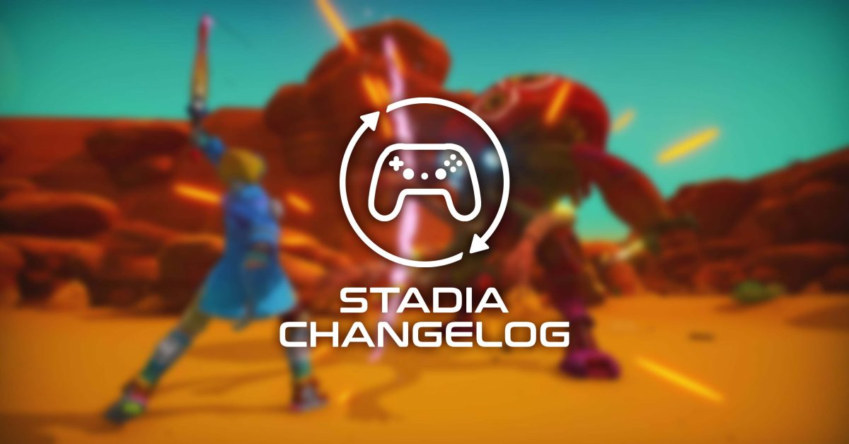 Stadia Changelog: 5 new games,   PixelJunk Raiders preps inverted controls, more thumbnail