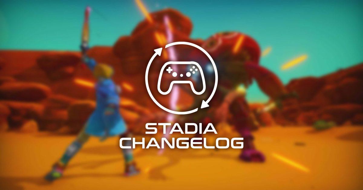 Stadia Changelog: 5 new games,   PixelJunk Raiders preps inverted controls, more thumbnail
