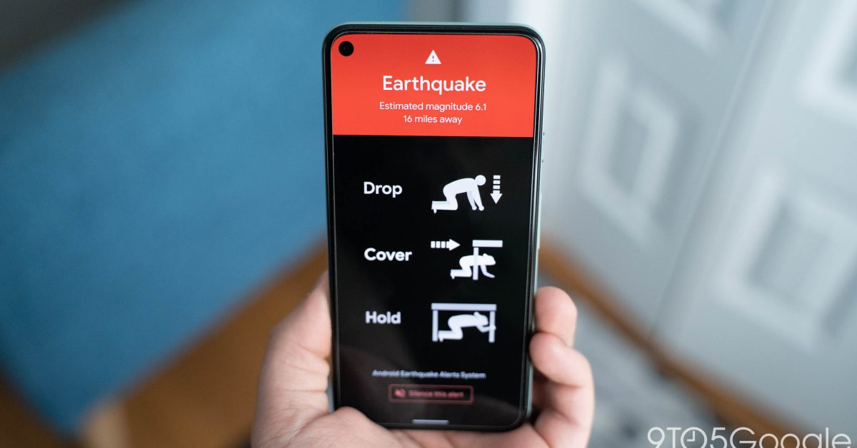 Android Earthquake Alerts System now providing warnings - 9to5Google