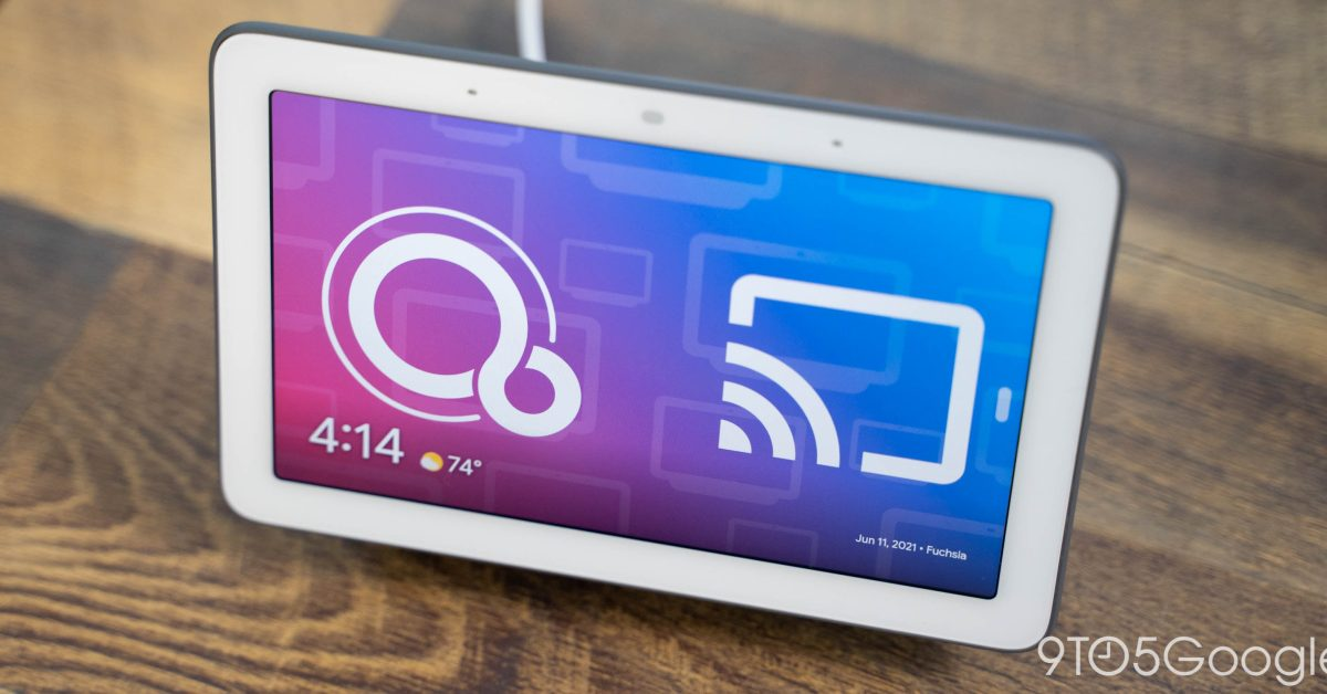 How to know if your Nest Hub has updated to Fuchsia OS - 9to5Google