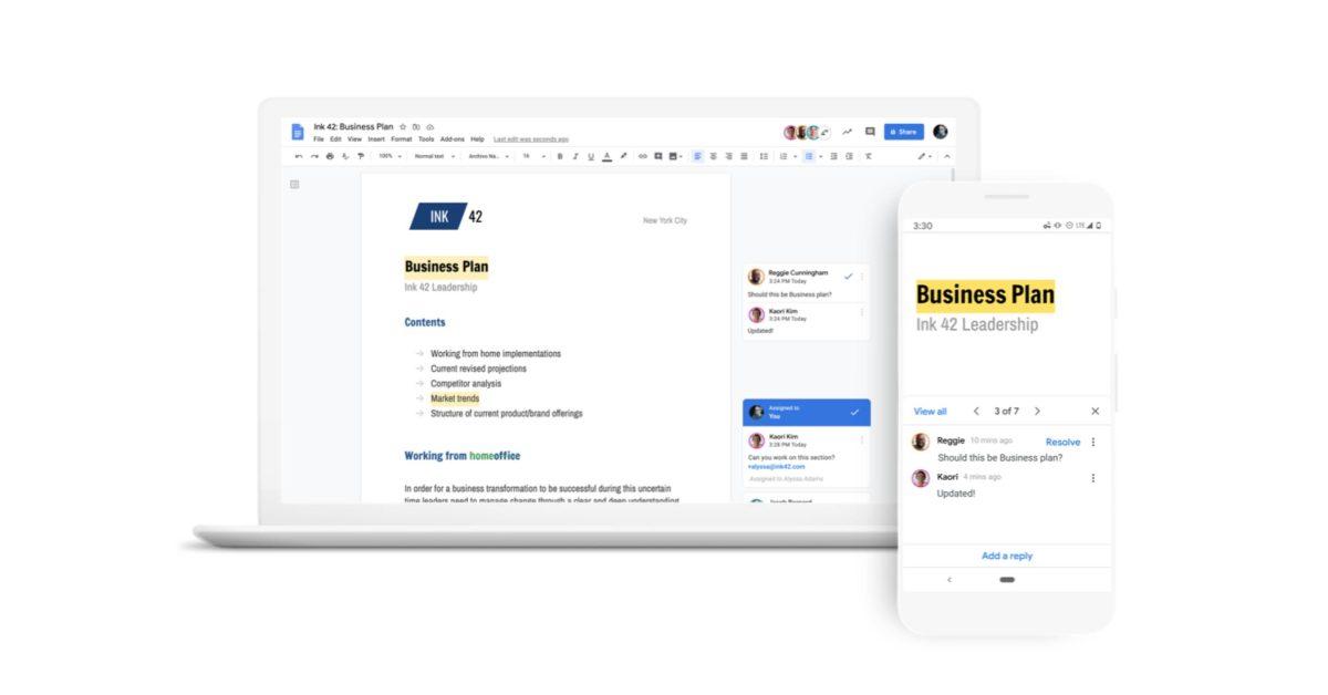 Google Docs and Slides pick up 60 new fonts, including JetBrains Mono, Comic Neue thumbnail