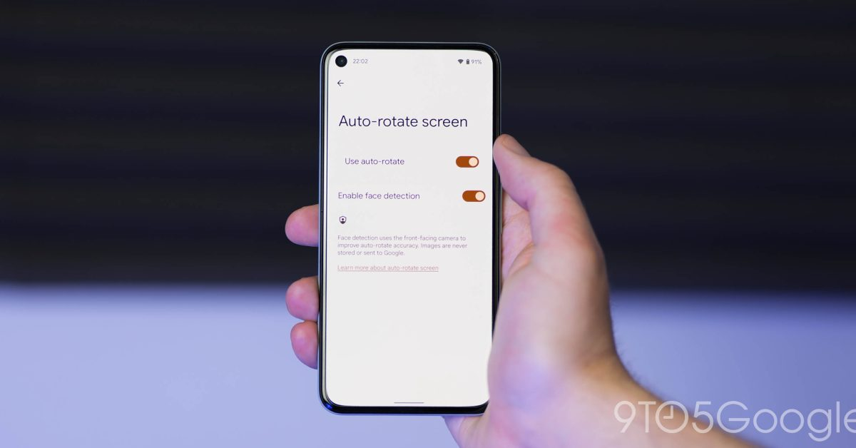 Android 12 Beta 3.1 subtly tweaks the auto-rotate animation - 9to5Google