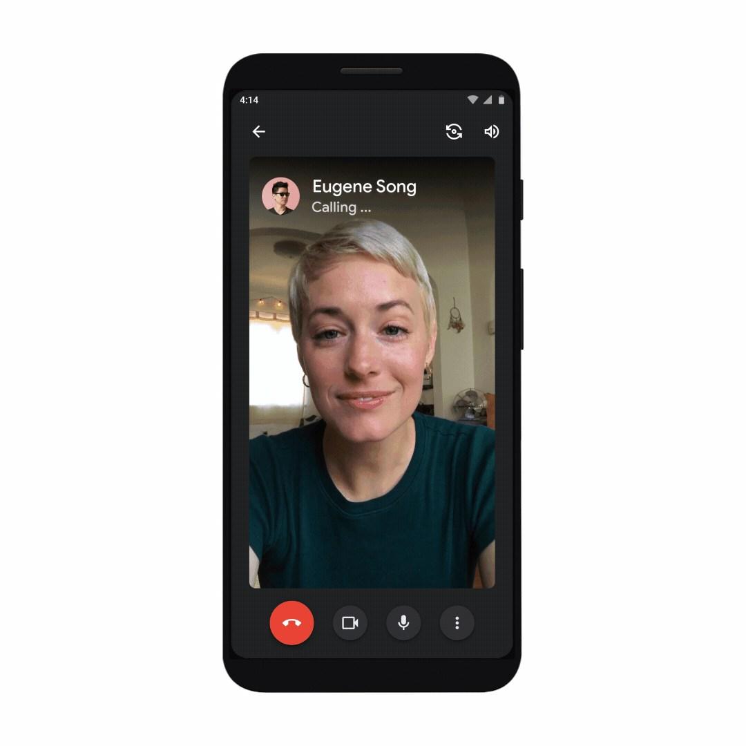 Google Meet calling