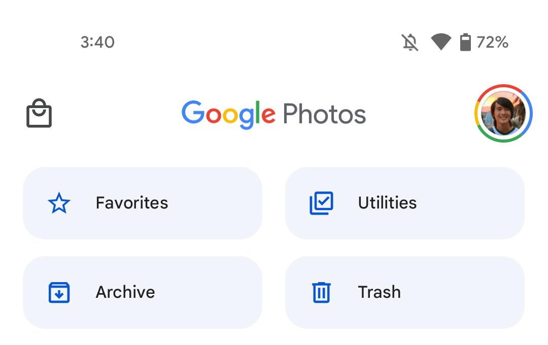 Google Photos Material You