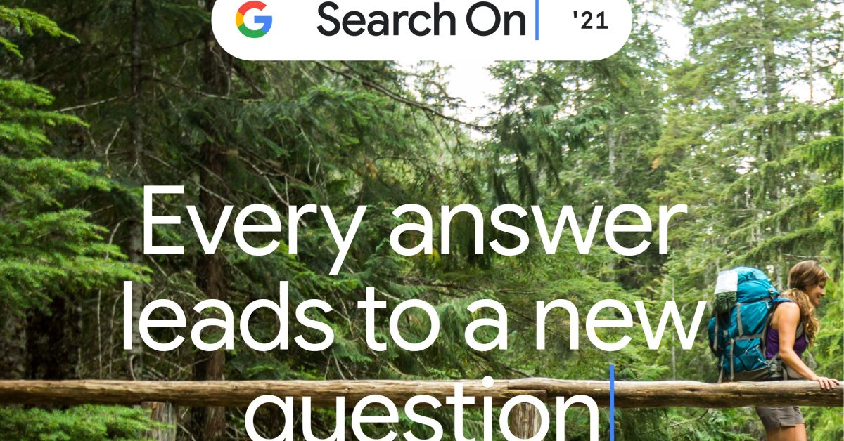 Google hosting 'Search On' 2021 keynote later this month