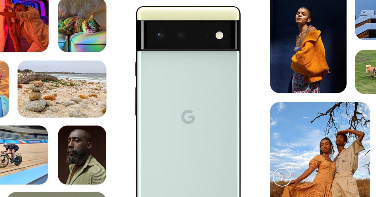 Google says Pixel 6 camera captures '150% more light,' shows 'Magic Eraser' on leaked marketing site thumbnail