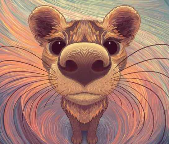 "Ubuntu 20.04 LTS ""Focal Fossa"" Artwork for Your Phone by Sylvia Ritter, Made with Krita"