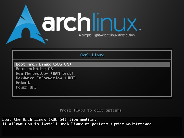 Arch Linux 2020.02.01