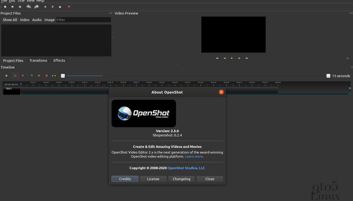 OpenShot 2.5