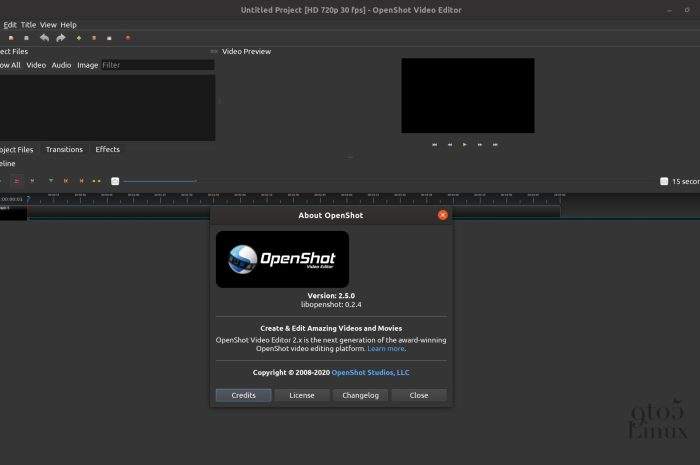 OpenShot 2.5 Open-Source Video Editor Adds Hardware Acceleration