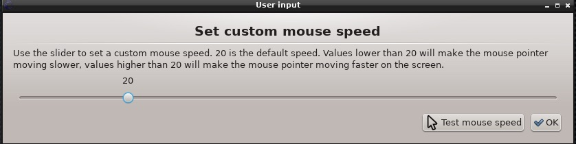 Mouse Speed