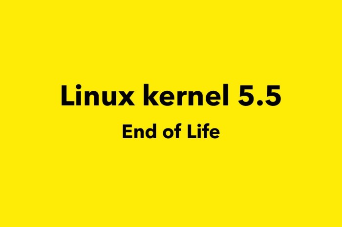Linux Kernel 5.5 Reaches End of Life, Upgrade to Linux 5.6 Now