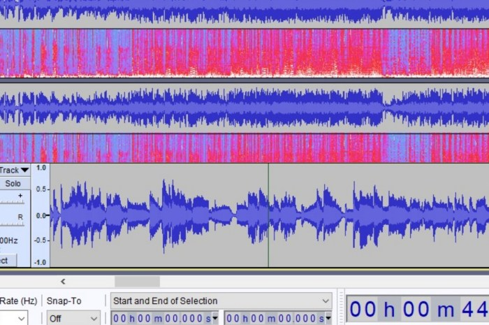 Audacity 2.4 Released with Multi-View Mode, Larger Time Toolbar, and New Effects