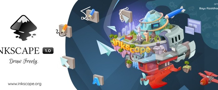 Inkscape 1.0 Is Here as a Massive Release After Three Years in the Making