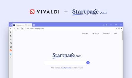 Vivaldi Startpage