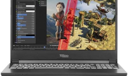 TUXEDO Linux laptop