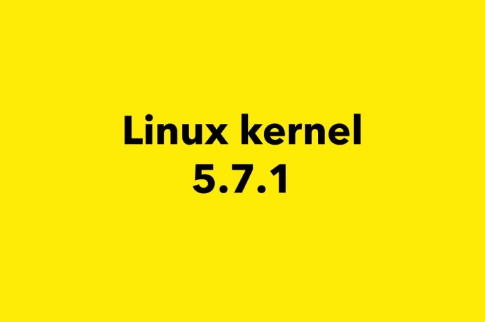 Linux Kernel 5.7 Gets First Point Release, It's Now Ready for Mass Adoption