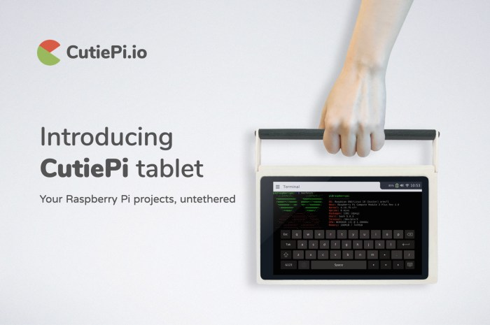 CutiePi Is World's Thinnest, Hackable Raspberry Pi Tablet, Available for Pre-Order Now