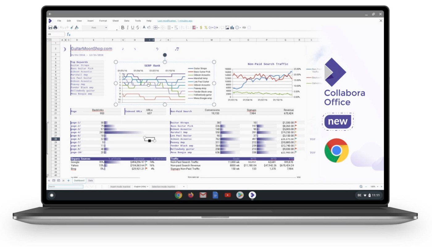 Collabora Office for Chromebooks