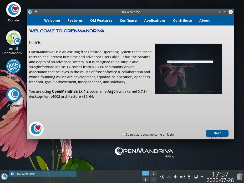 OpenMandriva Lx 4.2