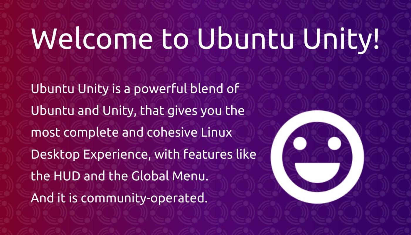 Ubuntu Unity 20.04.1