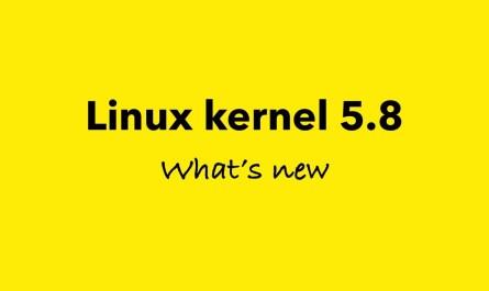 Linux 5.8 Kernel