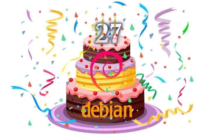 Debian Turns 27 Years Old, Happy Birthday!