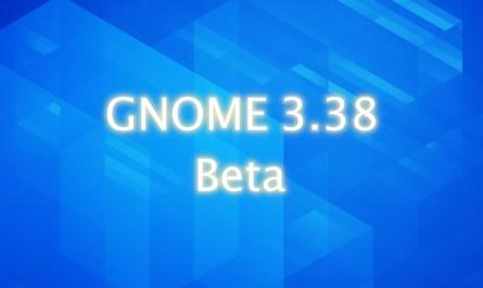 GNOME 3.38 beta