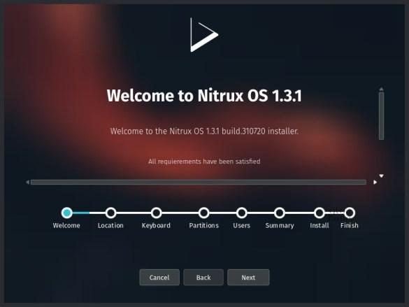 Nitrux 1.3.1