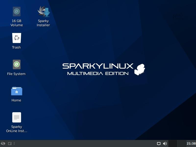 Sparkylinux 3 1