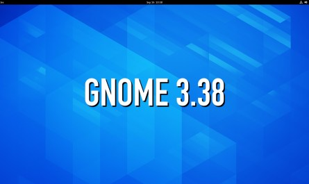 GNOME 3.38 Desktop Environment