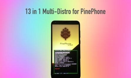 PinePhone Multi-Distro
