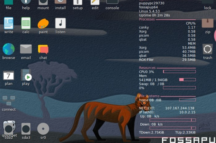 "Puppy Linux 9.5 ""FossaPup"" Is Here to Revive Your Old PC, Based on Ubuntu 20.04 LTS"