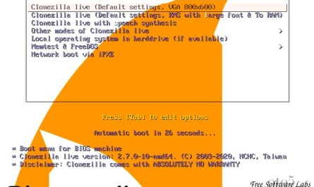 Clonezilla Live Linux 5.9