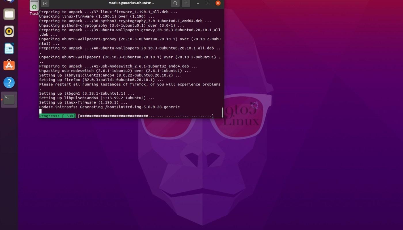 Ubuntu 20.10 Security Patch