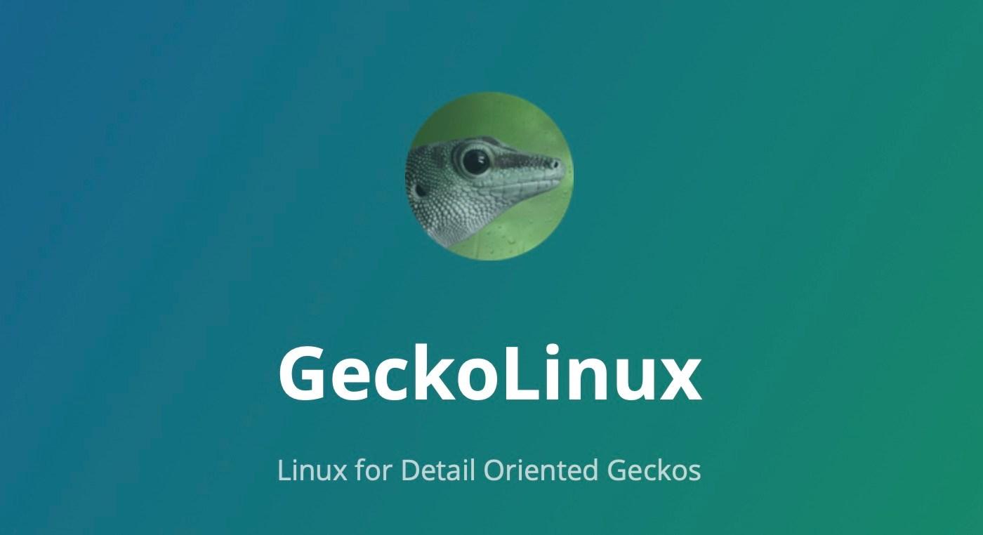 openSUSE-Based GeckoLinux