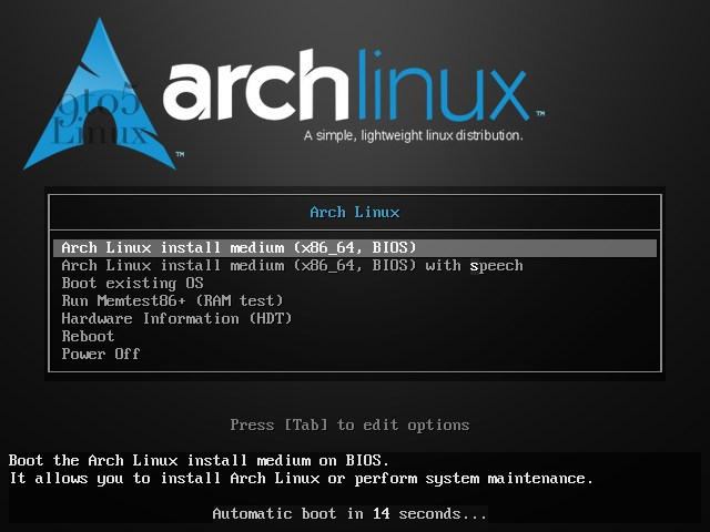 Arch Linux 2021