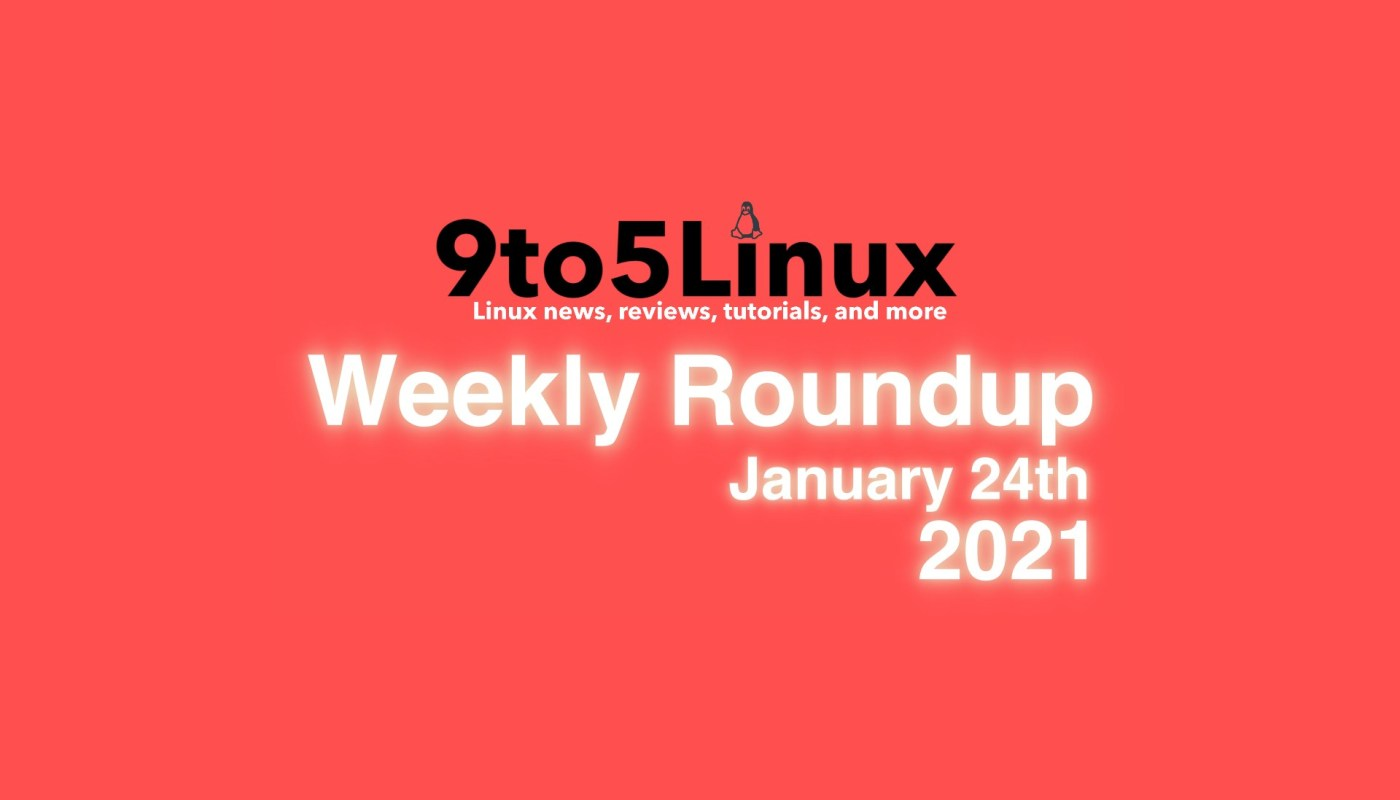 Weekly Roundup January 24th