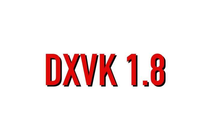 DXVK 1.8 Released with Improvements for Nioh 2, Hitman 3, and F1 2020