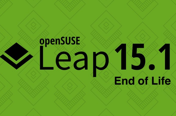 openSUSE Leap 15.1 Reached End of Life, Upgrade to openSUSE Leap 15.2 Now