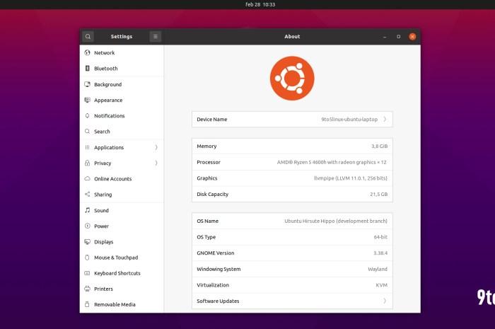 Ubuntu 21.04 (Hirsute Hippo) Enters Feature Freeze, Beta Expected on April 1st