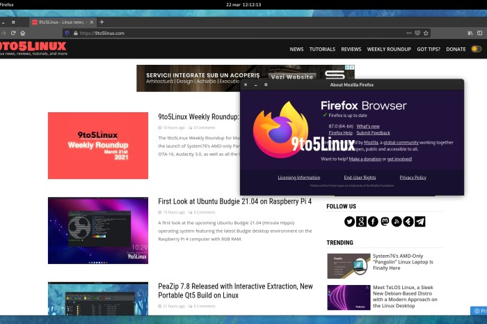 Mozilla Firefox 87 Is Now Available for Download, Here's What's New