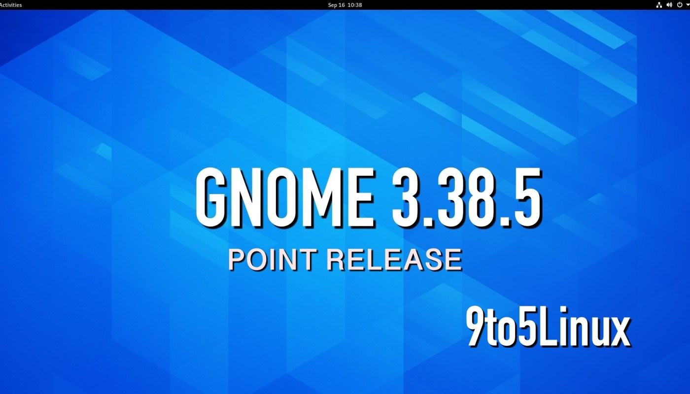 GNOME 3.38.5