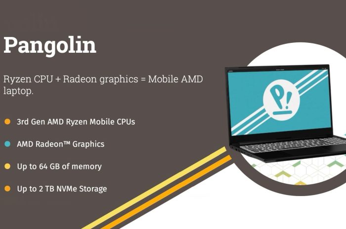 "System76's AMD-Only ""Pangolin"" Linux Laptop Is Finally Here"