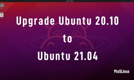 Ubutnu 21.04 Upgrade