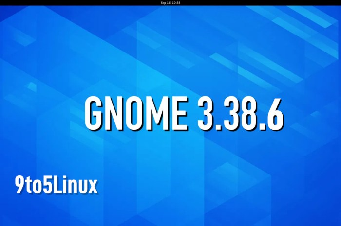 GNOME 3.38.6 Desktop Environment Released with Various Bug Fixes